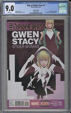 Edge of Spider-Verse #2 CGC 9.0 First Appearance Spider Gwen FOURTH PRINT DIRECT