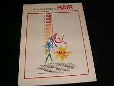 VOCAL SELECTIONS From HAIR<><>BIG 3 PUBLICATIONS  °1979°  LET THE SUN SHINE IN