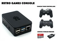 Retro Games Console - 200 or 320 GB GB Raspberry Pi 4 B Arcade Machine