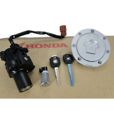 HONDA HORNET CB 600 F 2007 13  NUOVO KIT CHIAVE TAPPO IGNITION SWITCH  ORIGINAL