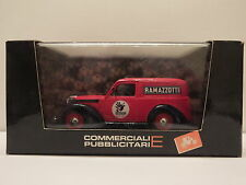 BRUMM R284 FIAT 1100E FURGONE - COMMERCIALE RAMAZZOTTI 1950 - 1:43 - MINT #15