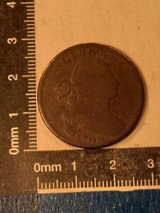 "1798 1 CENT COIN USA ""DRAPED BUST CENT"" KM-22 *"