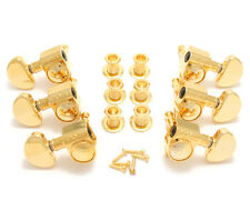 Grover Gold 18:1 Ratio Rotomatic Tuners for Gibson®/Epiphone® Guitar 102-18G