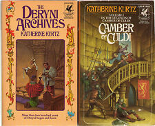 Complete Set Series - Lot of 18 Deryni books by Katherine Kurtz (Fantasy) Camber