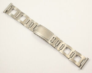 1960s/70s CLEWCO 20mm Open End Rally Watch Bracelet Suitable for Lemania, Heuer