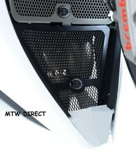 Honda CBR1000RR Fireblade 2012 R&G Racing Downpipe Grille DG0006BK Black
