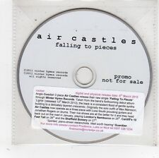 (FV685) Air Castles, Falling To Pieces - 2011 DJ CD
