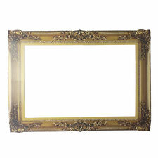 1x Photo Booth Props Antique Paper Frame Large Picture Frame Wedding Home Gift