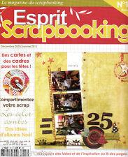 ESPRIT SCRAPBOOKING - N°18 - décembre/Janvier 2011