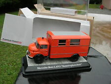 PREMIUM ClassiXXs 1/43 CAMION POMPIER MERCEDES BENZ LA 911 CAISSE PC!