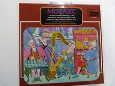 LP MOZART Concerto for Flute + Harp Fantasia Adagio