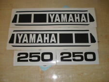 1979 YAMAHA YZ 250 GAS TANK & SIDE PANEL DECALS
