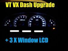 Holden Commodore VT VX VU WH WK Calais Berlina White LED Dash LCD Light Bulbs ..