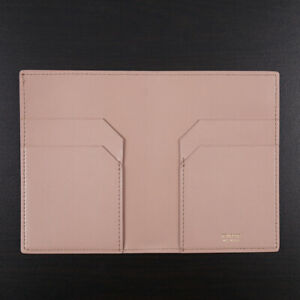 Tom Ford Light Pink Leather Passport Case with Card Holder New