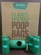 Frisco Dog Poop Bag Refills and dispenser earth friendly unscented