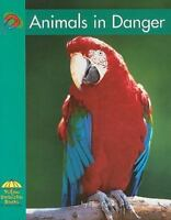 Library Book: Animals In Danger (Rise and Shine) by National Geographic Learnin