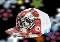 New Vans Geo Floral Classic Patch Snapback Trucker Cap Hat