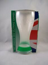 London 2012 Olympics Coca Cola Glass With Green Wristband In Box - McDonalds