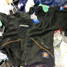 UMBRO  fleece  JACKET IN 36/38 INCH  blackAT £18 RRP £44.99 orange trim