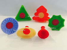 #Z1 Set Of 6 Pistachio and Dates Maamoul Plastic Mould 6 Different Designs معمول