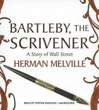 Bartleby, the Scrivener : A Story of Wall Street by Herman Melville (2013, CD, U