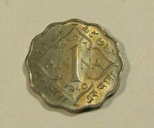 India 1940-C 1 Anna Au Coin