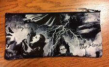 Horror Movie Classics Dracula Frankenstein Mummy Handmade Pencil Case