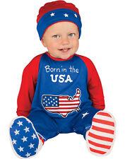Nouveau Né Pinte Taille Patriote Costume Bébé Garçon Premier 4th de Juillet