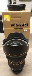 Nikon AF-S NIKKOR 14-24 mm 1:2,8G ED Superweitwinkel-Zoom Objektiv (JAA801DA)