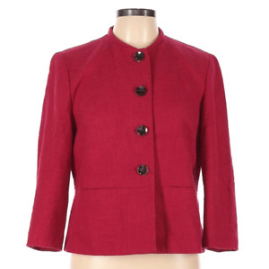 Talbots Women's Red Blazer Size 10