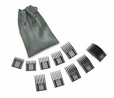 Oster Pro 76926-900 10 Universal Hair Clippper Comb Set Attachments Guides