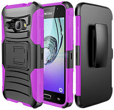 SAMSUNG GALAXY EXPRESS 3 LUNA BLACK PINK RUGGED HOLSTER 2PCS CASE SHOCK COVER