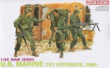 Dragon 1/35 3305 US Marines (TET Offensive) (Vietnam War) (NAM Series) (4 Figs)