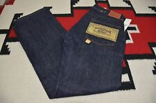 Ralph Lauren RRL Made in USA Copper Riveted Sanforized Buckleback Jeans 34x32