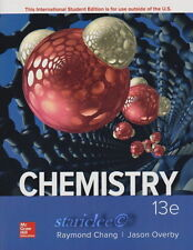 NEW 3 Days to US / CA Chemistry 13E Jason Overby Raymond Chang 13th SOFT Edition