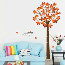 Maple Tree Life Quote Removable Vinyl Decal Wall Sticker Art Mural Room Decor