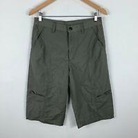 Kathmandu Shorts Mens Size XS W29-30 Khaki Cargo 3/4 Length Hiking