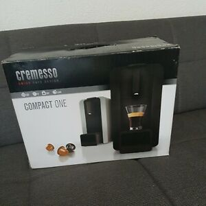 Kaffeemaschine für Kapseln Cremesso Compact one silber Neu OVP
