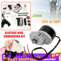 "24V/36V Electric Bike Conversion Kit Motor Controller For 22-29""Bicycle 250W HOT"