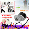 """NEW 24V/36V Electric Bike Conversion Kit Motor Controller For 22-29""""Bicycle 250W"""