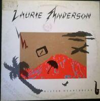 LAURIE ANDERSON - MISTER HEARTBEAT *ANNO 1984-DISCO VINILE 33 GIRI* N.59
