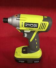 Ryobi P234G ONE+ 18-Volt Lithium-Ion Impact Driver + P102 18V Battery. P234G [A]
