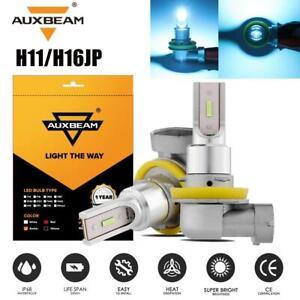 2x AUXBEAM H11 H8 H9 H16JP Blue Fog Lights LED Driving Headlight Bulbs DRL XENON