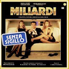 """COLONNA SONORA ORIGINALE DEL FILM"""" MILIARDI """"LP NUOVO (BRUNO CASSAR) CECCHI GORI"""