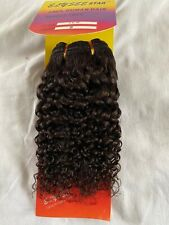 100% HUMAN HAIR - ELYSEE STAR - French Wavy WEAVE - 12 and 16 inches