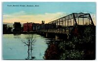 1911 North Mankato Bridge, Mankato, MN Postcard