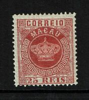 Macao SC# 6, Mint Hinged, Hinge/Page Remnants, see notes - S8300
