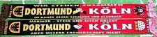 """Dortmund Köln Freundchafts POLY-SCHAL """"MARMOR-STEIN UND EISEN"""" Ultra Fan Block"""
