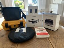 DJI Spark Drone, Alpine White, 4 Batteries, Carry Case, Charge Station, Extras