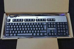 Neu & OVP: HP Tastatur QWERTZ PS2 Silber Schwarz 434820-041 042 Deutsch KB-0316